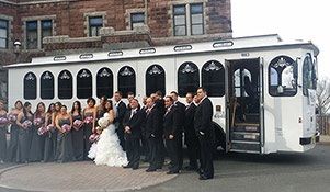 New Jersey Wedding Trolley